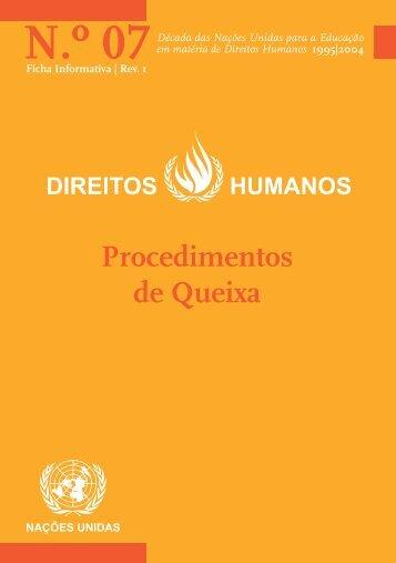 N.º 07 - Gabinete de Documentação e Direito Comparado