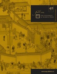 download - the University of Alberta Press
