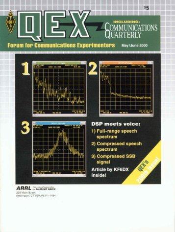 May/June 2000 QEX