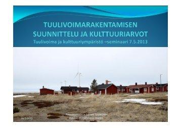 Kommenttipuheenvuoro - Museovirasto
