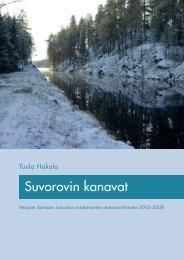 Suvorovin kanavat pdf-raporttina - Museovirasto
