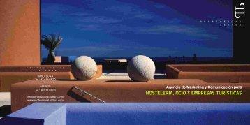 hosteleria, ocio y empresas turísticas - Professional Letters