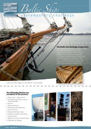 Baltic Ships h - Monitoring Group on cultural heritage in the Baltic ...