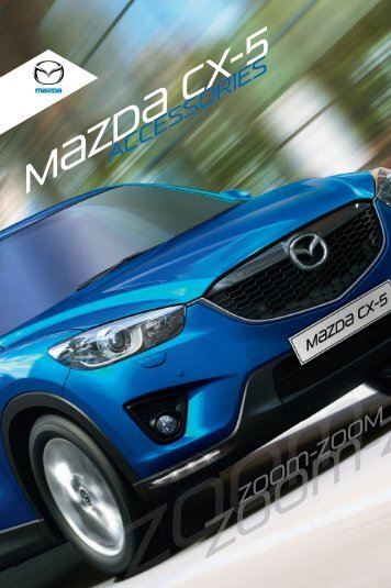 Mazda CX-5 Accessories _MASTER_ 2012 - Manuale mazda