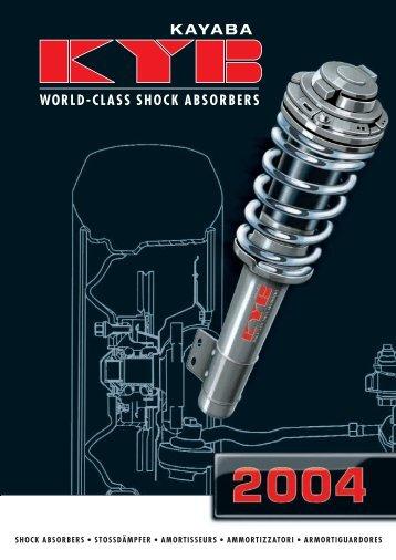 KA Y A B A Catalogue 2004 - Manuale mazda