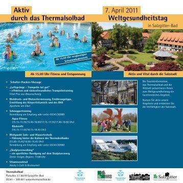 Weltgesundheitstag - altstadt-salzgitter-bad.de