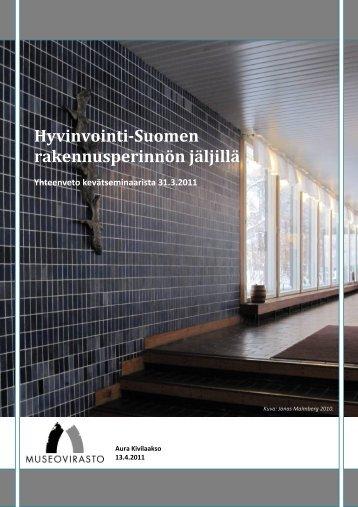 Kevätseminaarin raportti - Museovirasto