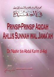 Prinsip Aqidah Ahlus Sunnah wal Jamaah – Pdf File