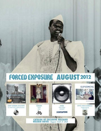 AUGUST2012 - Forced Exposure