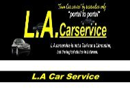 Car service for lax