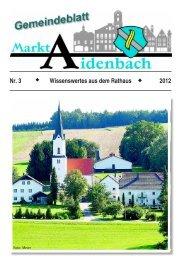 Nr. 3/2012 - Markt Aidenbach