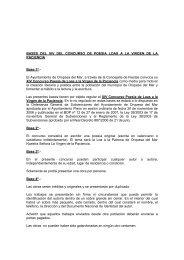 BASES DEL XIV DEL CONCURSO DE POESIA ... - Oropesa del Mar