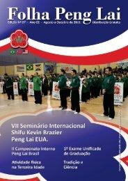 Edição Nº 07 - Ano 02 - Agosto a Outubro de 2011 - Peng Lai Brasil