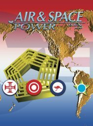 Fall 2005 Edition - Air & Space Power Chronicle