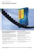 Timing Belt & Kits Catalogue 2008/2009 (pdf 2MB ... - Bosch Australia - Page 6