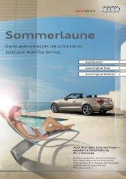 Sommerlaune - Audi