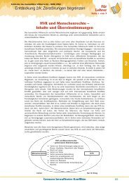 HVR und Menschenrechte - Humanitäres Völkerrecht