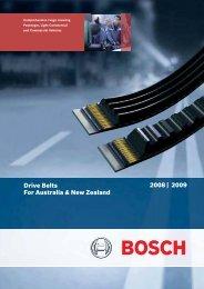 Bosch Drive Belts - Bosch Australia