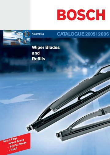 Bosch Micro Edge Refills - Motointegrator.pl