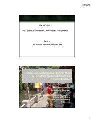 Health Seeking Behavior - KMPK
