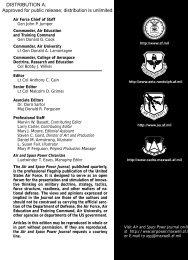 Air and Space Power Journal - Winter 2002