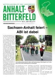 Ausgabe 13 vom 7. Juli 2012 - Landkreis Anhalt-Bitterfeld
