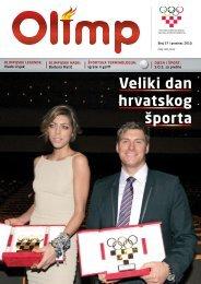 OLIMP 37 - prosinac 2010. - Hrvatski Olimpijski Odbor