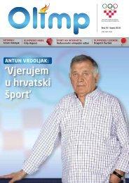 OLIMP 35 - lipanj 2010. - Hrvatski Olimpijski Odbor