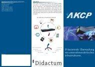 IT-Monitoring Lösungen von AKCP - Didactum