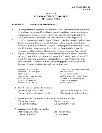 3 test package reading comprehension mathematical acer 2010 tsjcl reading comprehension test advanced fandeluxe Image collections