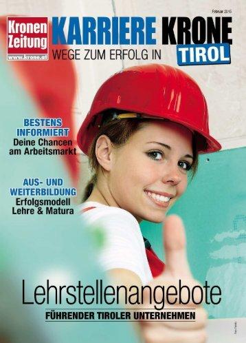 Karriere Krone Tirol_150201
