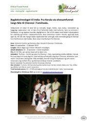 Bygdekvinnelaget til India: Fra Kerala via elvesamfunnet langs Nila ...