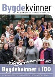 Inspirasjonsseminar - Bygdekvinnelaget