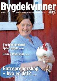 Entreprenørskap – hva er det? Side 14 - Bygdekvinnelaget
