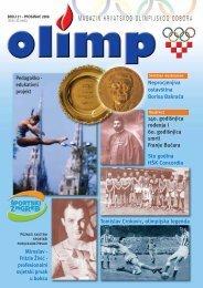 magazin hrvatskog olimpijskog odbora - Hrvatski Olimpijski Odbor