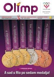 OLIMP 44 - rujan 2012. - Hrvatski Olimpijski Odbor