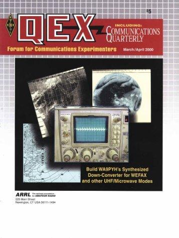 March/April 2000 QEX