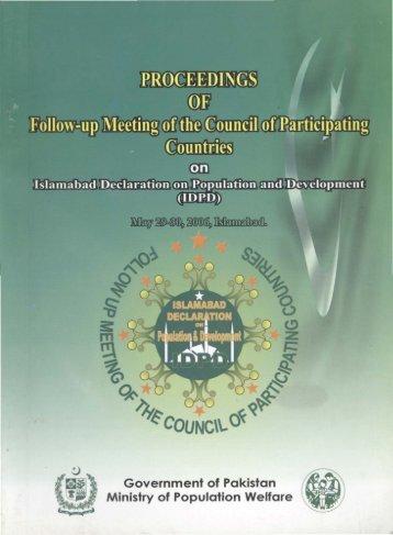 International Ulema Conferences-Islamabad Declaration