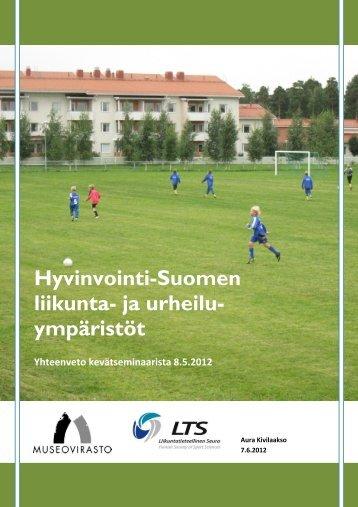RHy Kevätseminaarin 2012 yhteenveto - Museovirasto