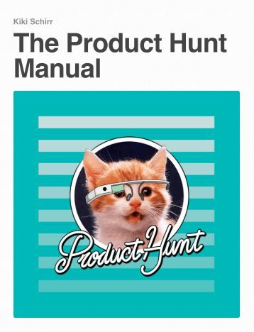 The Product Hunt Manual