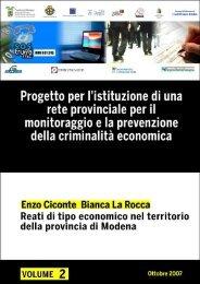enzo ciconte - Provincia di Modena Sociale