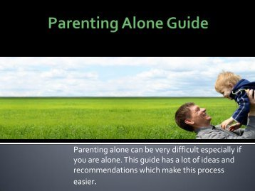 Parenting Alone Guide