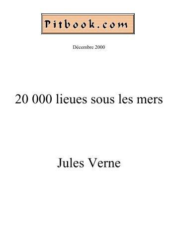 20 000 lieues sous les mers Jules Verne - Pitbook.com