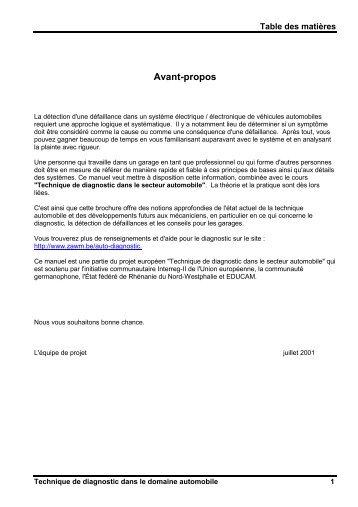Avant-propos - Fichier PDF