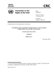 CRC Convention on the Rights of the Child - Direitos Humanos