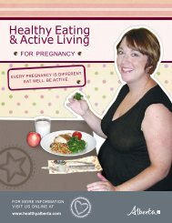 Healthy Eating and Active Living for Pregnancy / 5.23 ... - Healthy U