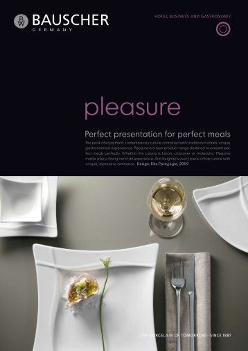 pleasure - Bauscher