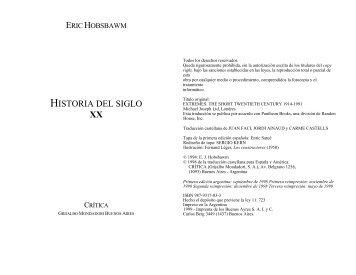 HISTORIA DEL SIGLO XX - Colectivo Editorial Ultimo Recurso