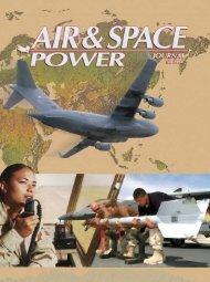 Fall 2004 - Air & Space Power Chronicle - Air Force Link