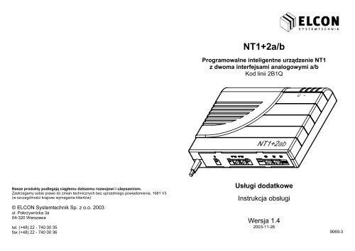 ELCON NT1 WINDOWS 8 X64 TREIBER